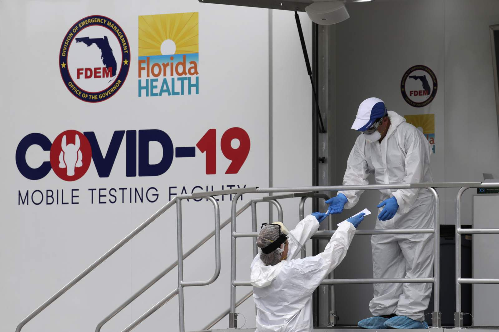 Florida now has over 5,000 deaths caused by COVID - 19
