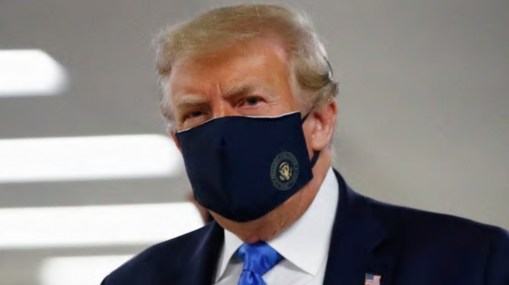 More Americans are dying from COVID than Europeans. Even Trump is now wearing a mask in public.