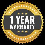 1 year limited warranty